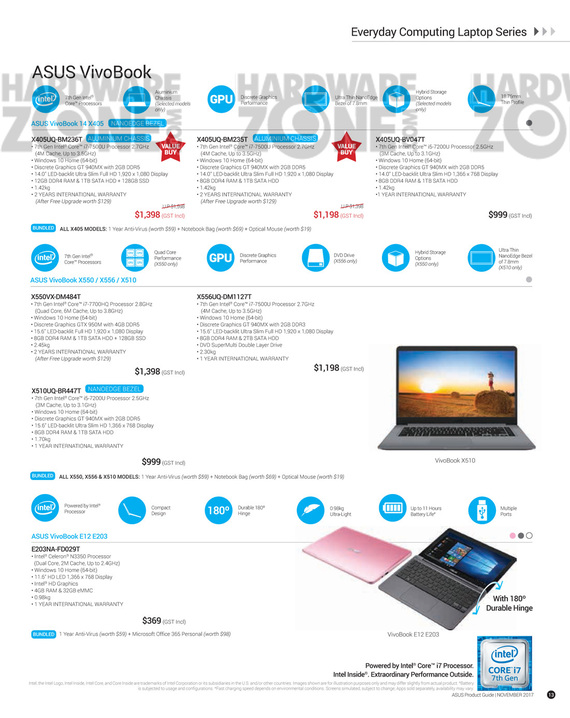 ASUS Nov Product Guide - Pg 13