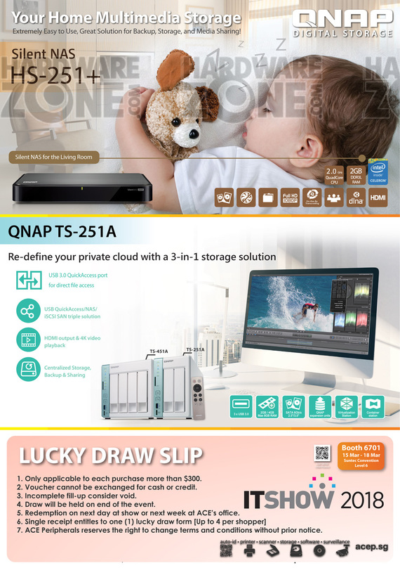 Acep QNAP Lucky Draw