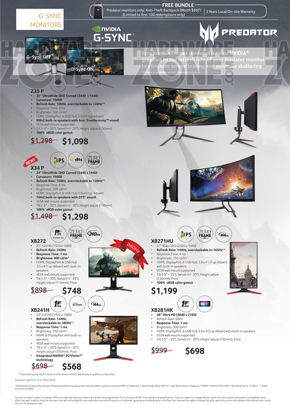 Acer Monitors - Pg 4