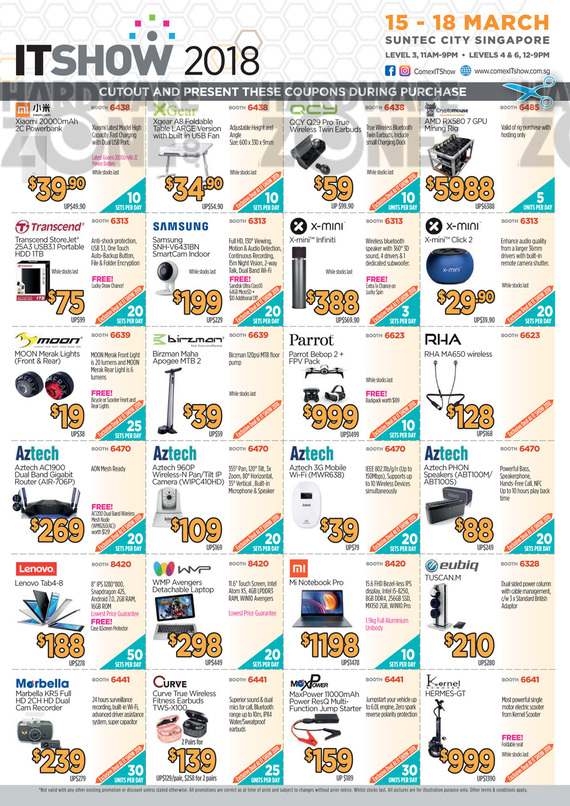 IT Show Cutout Coupons - Pg 2