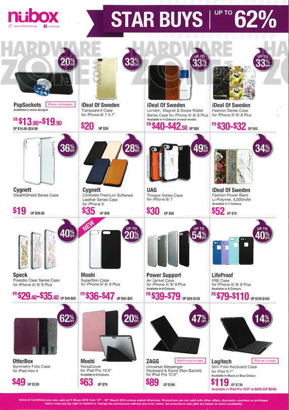 Nubox Accessories - Pg 01