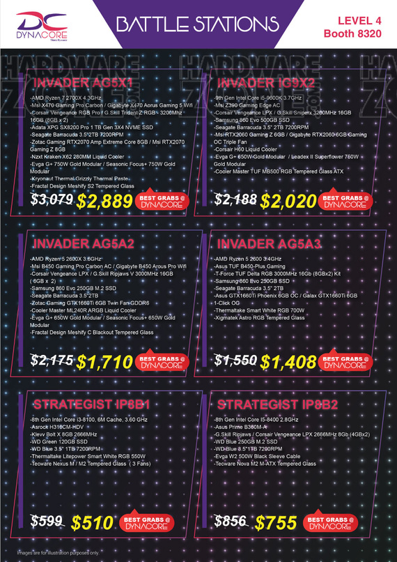 Gaming Gear Brochures Page 7/10 - IT Show 2019 Singapore