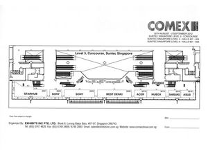 Comex 2012 Level 3 Floor Plan