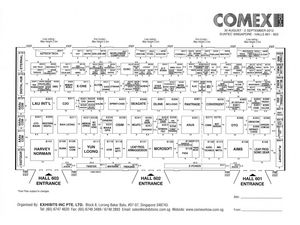 Comex 2012 Level 6 Floor Plan