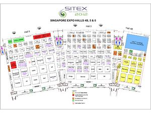 SITEX 2012 Floor Plan