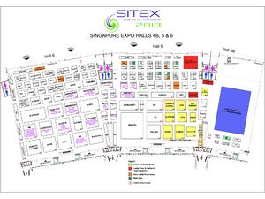 Sitex 2013 Floor Plan