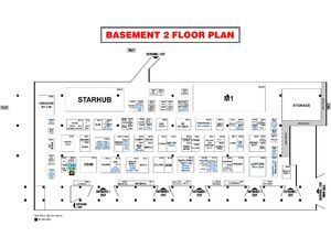 IT Show 2014, Basement 2 floor plan