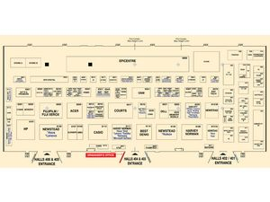 SG Tech Show 2014 Floor Plan