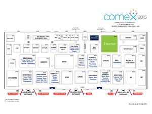 Comex 2015 Floor Plan - Level 4