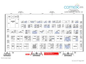 Comex 2015 Floor Plan - Level 6