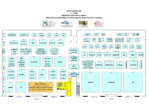PC Show 2015 Floor Plan