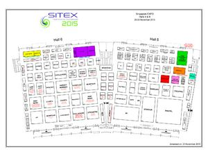 Sitex 2015 Floor Plan