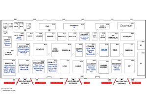 Comex 2016 Floor Plan - Level 4