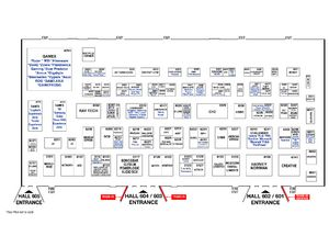Comex 2016 Floor Plan - Level 6