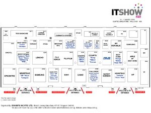 IT Show 2016 Floor Plan - Level 4