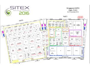Sitex 2016 Floor Plan