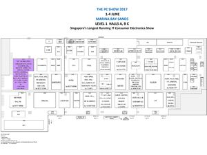 PC Show 2017 Floor Plan
