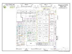 Sitex 2017 Floor Plan