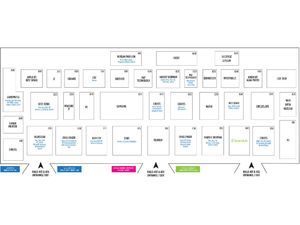 Comex 2018 Floor Plan - Level 4