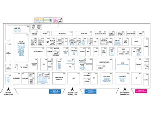 Comex 2018 Floor Plan - Level 6