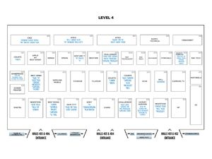 IT Show 2018 Floor Plan - Level 4