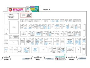 IT Show 2018 Floor Plan - Level 6
