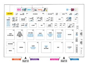 The Tech Show 2019 Floor Plan