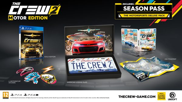 The Crew 2 launches on 29 June 2018, collector's edition for Asia revealed