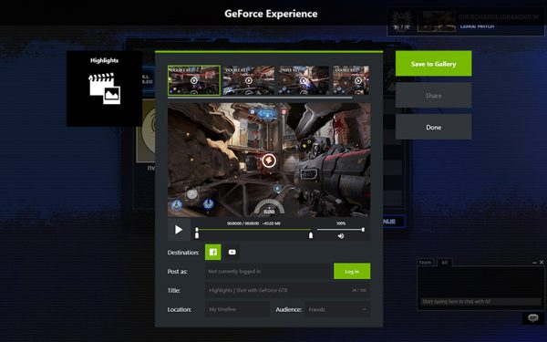 NVIDIA Highlights lets you share your killing spree as a GIF