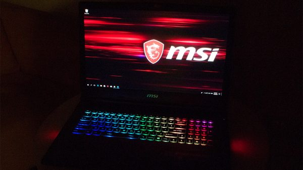 Quick Peek: MSI GE73 Raider RGB gaming notebook