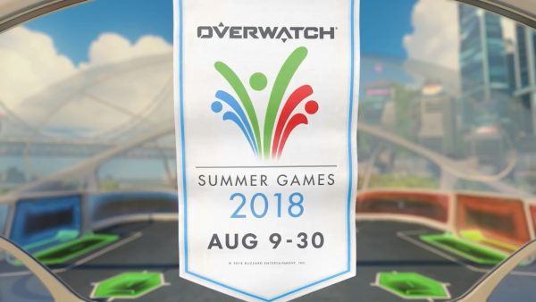 New Lúcioball map and loads of cosmetics for Overwatch Summer Games 2018