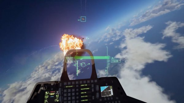 TGS 2018: Ace Combat 7's PlayStation VR mode is fantastic