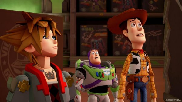 TGS 2018: Kingdom Hearts III's Toy Story and Frozen level