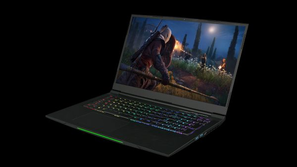 Get a 17.3-inch display in a 15.6-inch body with Aftershock's APEX 17 gaming notebook