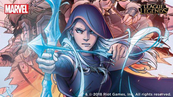 Marvel is publishing League of Legends comics!