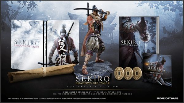 Local PS4 prices and bonuses for Sekiro: Shadows Die Twice announced