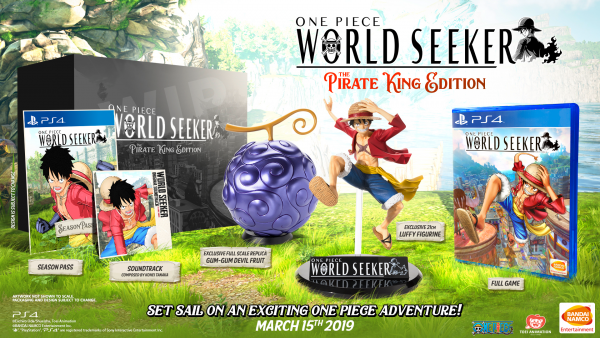One Piece: World Seeker release date and collector's edition announced
