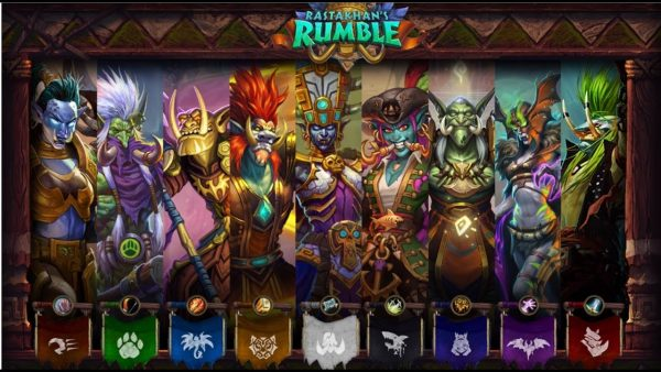 Hearthstone's new Rumble Run solo adventure is now playable