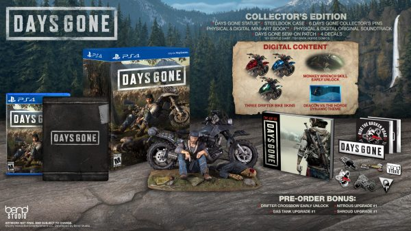 Days Gone Collector's Edition goes for over $200, pre-orders now open