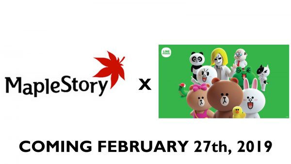 MapleStory x LINE collab begins on 27 Feb!