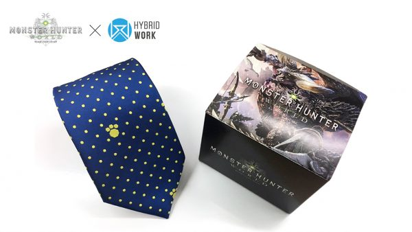 Japan is getting 18 Monster Hunter: World neckties in March