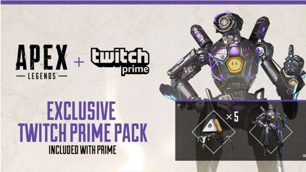 Don't forget these exclusive Apex Legends goodies from Twitch Prime