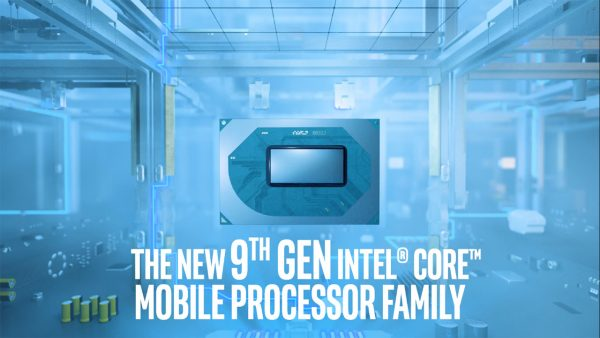 9th Gen Intel Core mobile processors now available