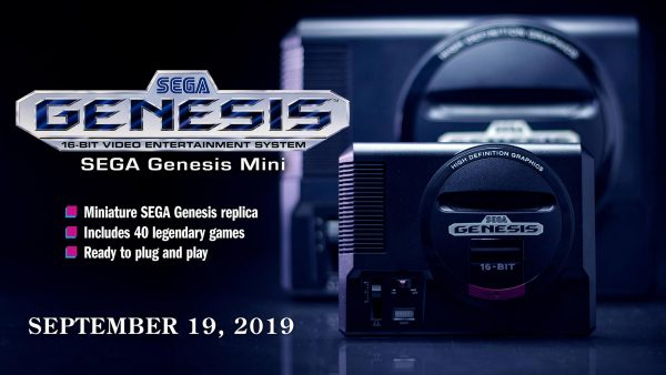 SEGA Genesis Mini will be in Singapore on Sep 19 for $119.90