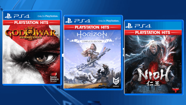 PlayStation Hits welcomes God of War III, Horizon Zero Dawn and Nioh to the $28.90 club
