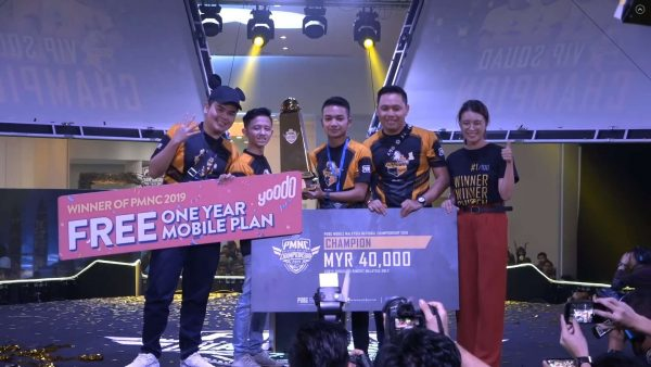 VIP Squad are the champions of the PUBG Mobile Malaysia National Championship 2019!