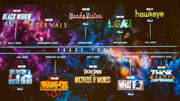 Marvel Studio's complete Phase 4 lineup has been revealed! Doctor Strange, Thor, Shang-Chi and so much more!