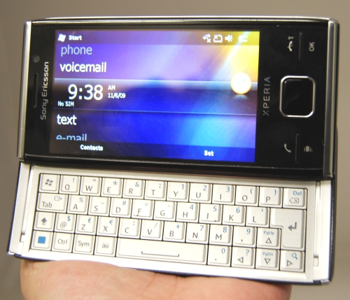 The Sony Ericsson Xperia X2, featured extensively at this booth, is great for those who work on-the-go: with its ergonomically built QWERTY keyboard, emailing can be done quickly and efficiently.
