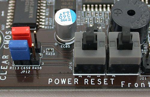 The DFI LANParty DK P55-T3eH9 : The BIOS Resurrector - DFI