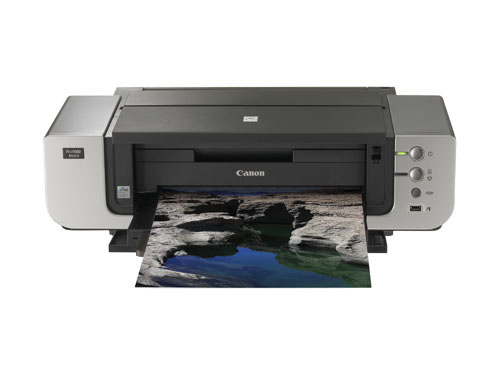 The Canon PIXMA Pro9500 Mark II professional home photo printer.